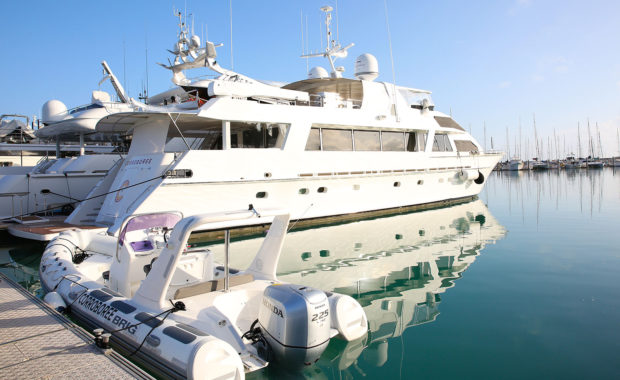 Superyacht support Whitsundays